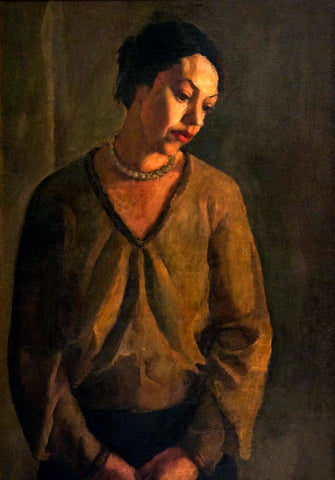 Amrita Sher Gil - Study of Model