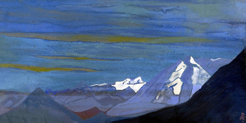 Indian Masters - Nikolai Roerich - Himalayan Snows