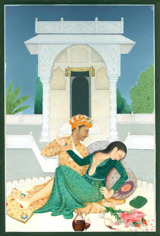 Indian Miniature Art - True-romance