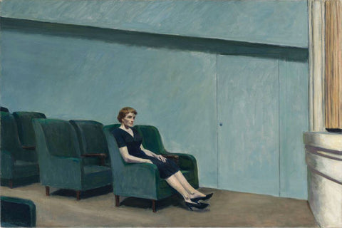 Intermission (Intermedio) - Edward Hopper by Edward Hopper