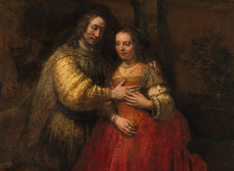 Isaac and Rebecca, known as 'The Jewish Bride' - Life Size Posters
