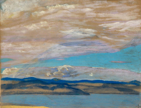 Islands -  Nicholas Roerich Painting –  Landscape Art by Nicholas Roerich