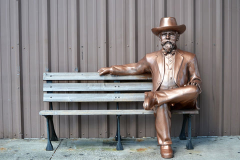 Jack Daniels On A Bench