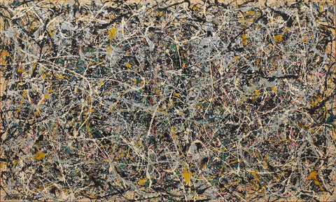 One: Number 31, 1950 - Jackson Pollock by Jackson Pollock