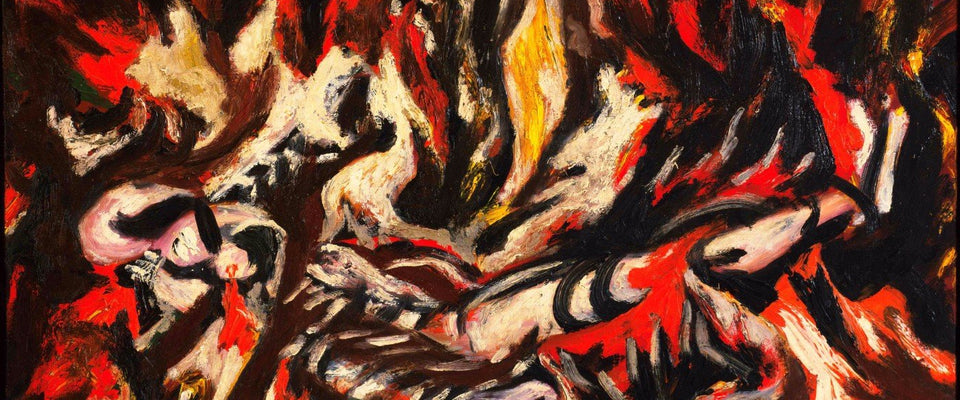 Jackson Pollock - The Flame by Jackson Pollock | Buy Posters, Frames, Canvas  & Digital Art Prints