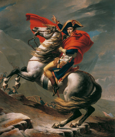 Napoleon Crossing the Alps I