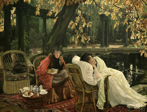 A Convalescent, c.1876 - Posters by James Tissot