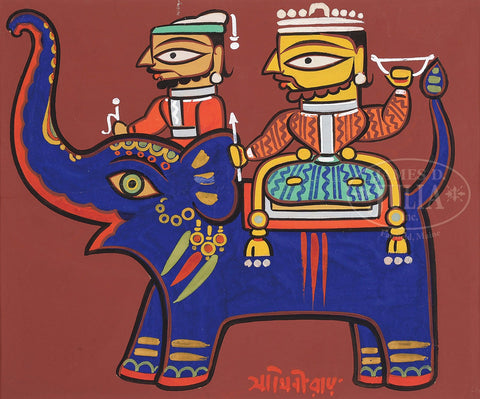 Jamini Roy - 4 by Jamini Roy