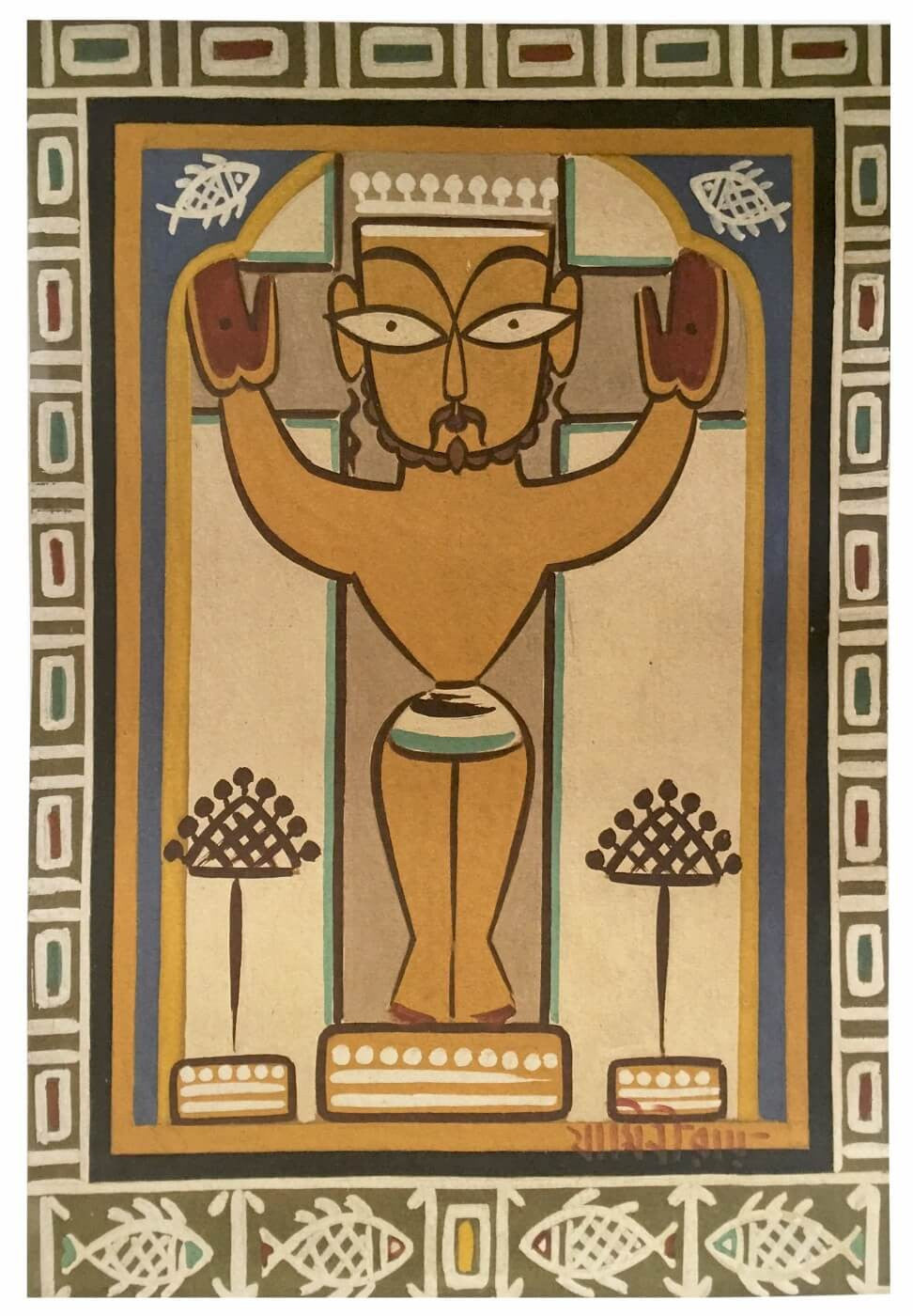 jesus christ posters by jamini roy buy posters frames canvas