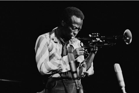 Jazz legends miles davis live at fillmore east tallenge music collection posters