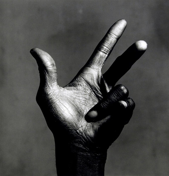 Photograph of Jazz Legends - Miles Davis - Hand - Tallenge Music Collection by Stephen Marks