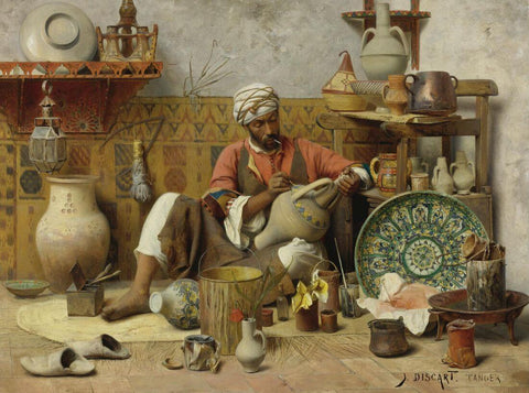 Jean Discart - The Pottery Studio Tangiers