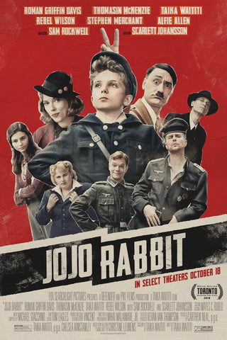 JoJo Rabbit - Taika Watiti - Oscar 2019 - Hollywood War Movie Poster - Posters by Kaiden Thompson