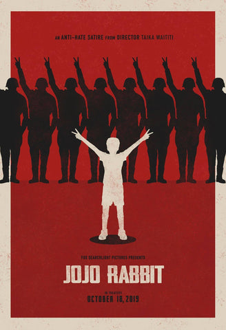 JoJo Rabbit - Taika Watiti - Oscar 2019 - Hollywood War Satire Comedy Movie Graphic Poster - Posters by Kaiden Thompson