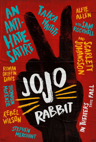 JoJo Rabbit - Taika Watiti - Oscar 2019 - Hollywood War Satire Comedy Movie Poster - Posters by Kaiden Thompson