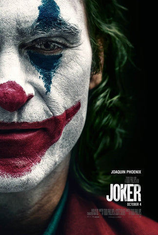 Joker - Joaquin Phoenix - Hollywood Action Movie Poster 2