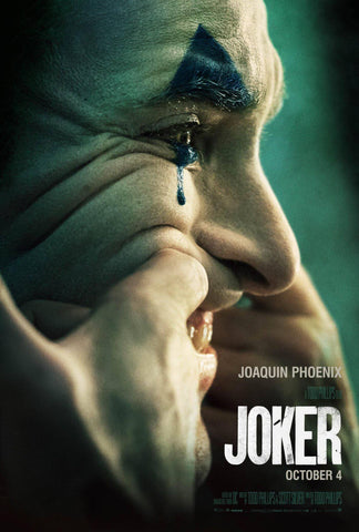 Joker - Joaquin Phoenix - Hollywood Action Movie Poster 3