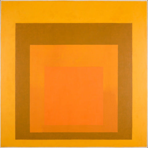 Homage to the Square: Amber Setting