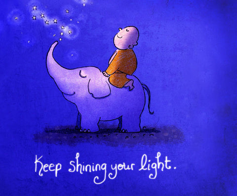 Keep Shinining Your Light - Framed Prints