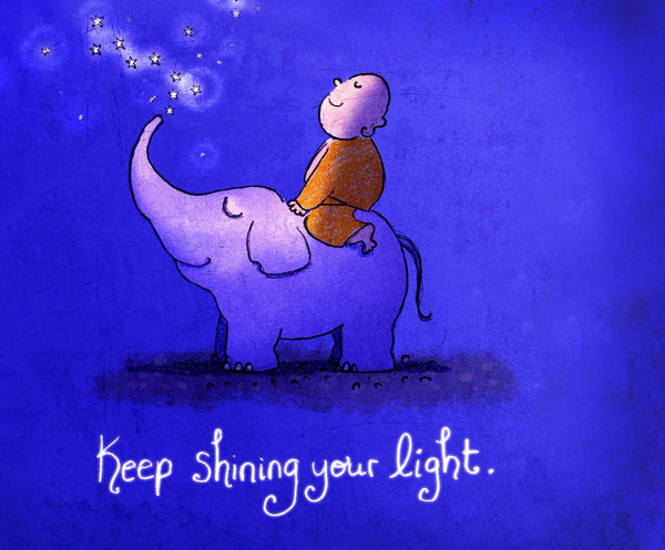Keep Shinining Your Light - Canvas Prints