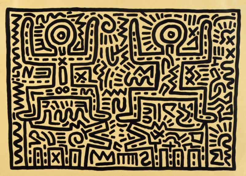 Pop Art — Best of Haring | Buy Posters, Frames, Canvas, Digital Art & Large Size Prints