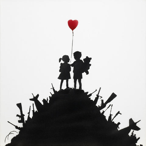 Kids on Guns Hill - Banksy