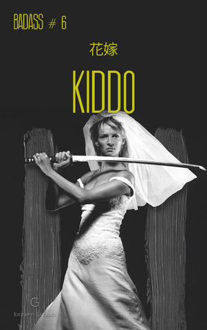 Kill Bill Vol 2 - Beatrice Kiddo - The Bride - Uma Thurman - Quentin Tarantino Hollywood Movie Poster Collection