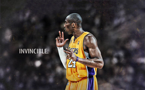 Kobe Bryant - Los Angeles LA Lakers  - NBA Basketball Great Poster by Kimberli Verdun