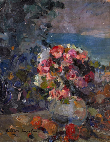 A Fresh Bouque by Konstantin Korovin