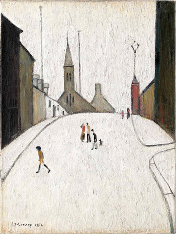 Church Street Clitheroe - L S Lowry