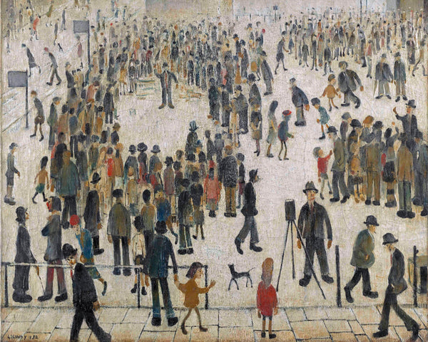 Marketplace - L S Lowry