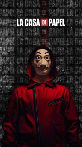 La Casa De Papel - Money Heist - Netflix TV Show Poster Art by Tallenge Store