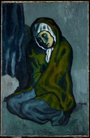 Pablo Picasso - La Misereuse Accroupie (Crouching Beggar)