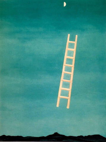 Ladder To The Moon - Georgia OKeeffe