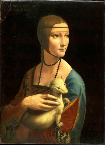 Lady With An Ermine - Dama Con Lermellino