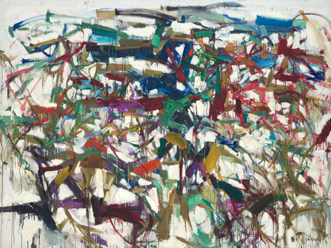 Ladybug - Joan Mitchell - Abstract Masterpiece Painting