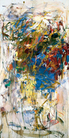Le Chemin Des Ecoliers - Joan Mitchell - Abstract Masterpiece Painting