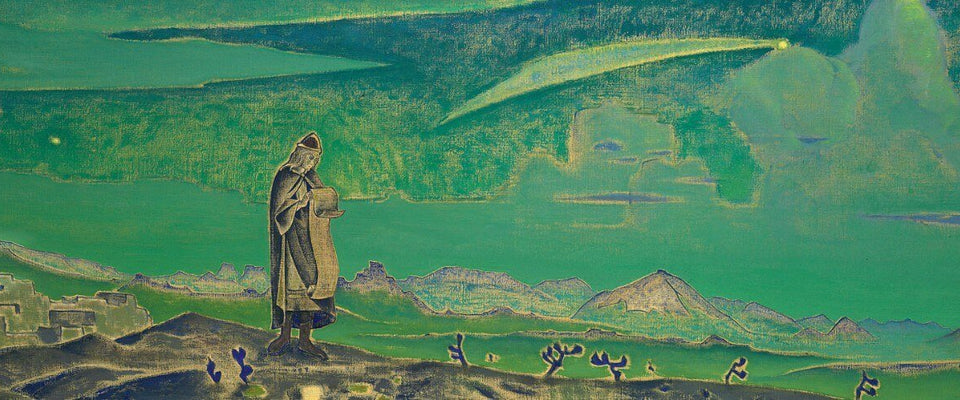Legend (Messiah) by Nicholas Roerich | Buy Posters, Frames, Canvas  & Digital Art Prints