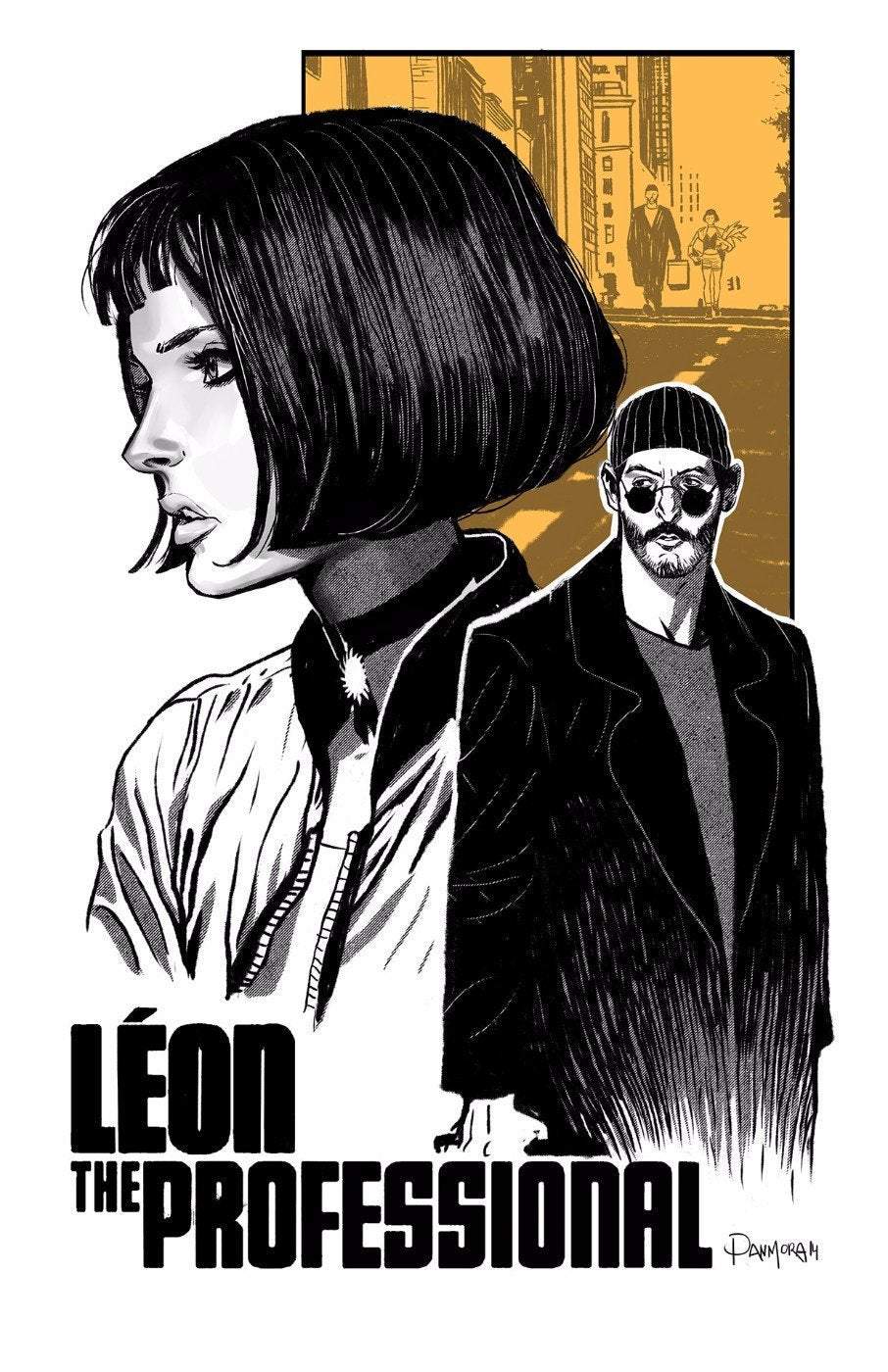 tallenge hollywood collection movie poster leon the professional