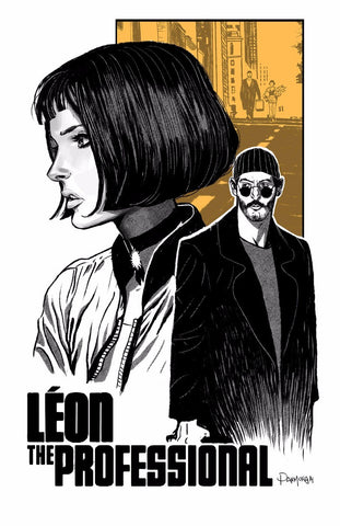 Tallenge Hollywood Collection - Movie Poster - Leon The Professional