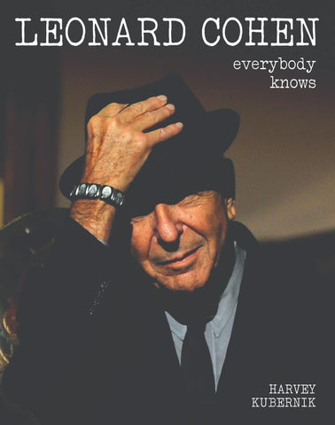Leonard Cohen - Everybody Knows Poster