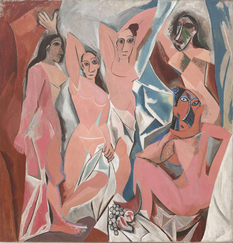 Les Demoiselles dAvignon - The Young Ladies of Avignon