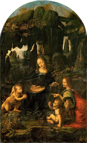 Madonna Of The Rocks