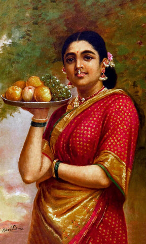 Madri by Raja Ravi Varma
