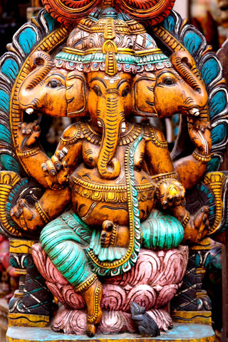 Mahaganpati Vinayak - Ganesha Art Collection by Raghuraman