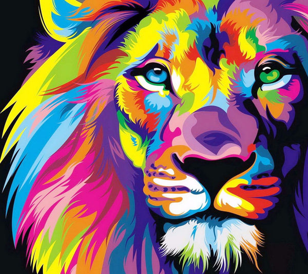 Artwork of Majestic Lion by George Joseph