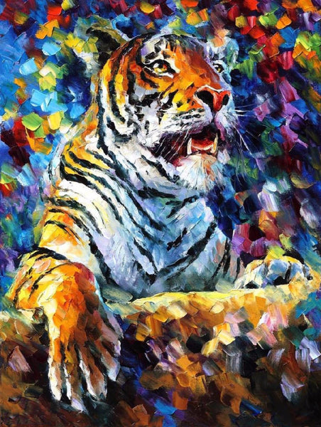 Majestic Tiger - Canvas Prints