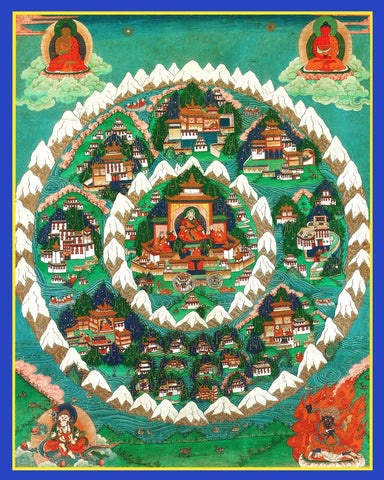 Mandala Kingdom of Shambhala - Buddhist Thangka Collection
