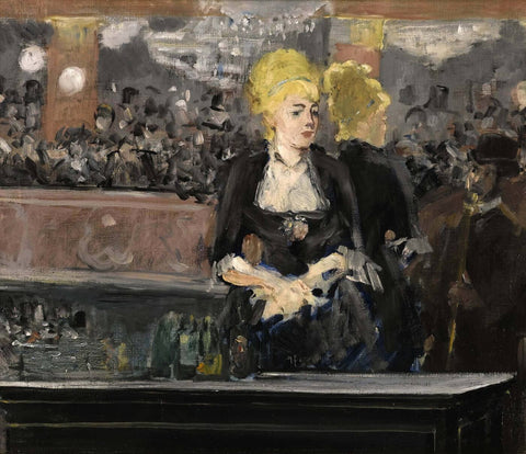 A Bar At The Folies-Bergere (Le Bar aux Folies Bergere) - Edward Manet