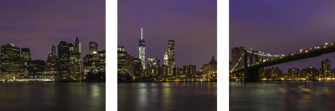Manhattan Skyline - Art Panels